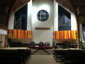 Pentecost Sanctuary