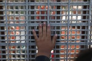 Families Reunite At US-Mexico Border Fence